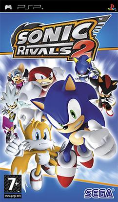 Sonic Rivals 2 Coverart