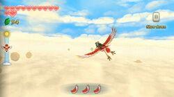 LoZ Skyward Sword gameplay