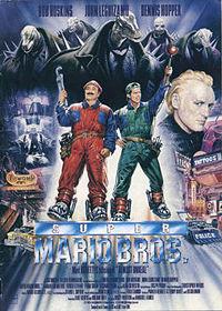 Super Mario Bros (1993) theatrical poster