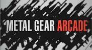 Metal Gear Arcade Logo