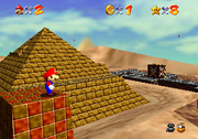 Mario 64 Shifting Sand Land