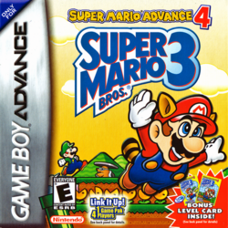 Super Mario Advance 4 Box