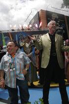 Warwick Davis & Anthony Daniels 2