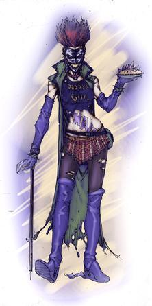 Artwork of the Joker's Daughter