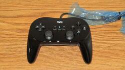 Black classic controller pro