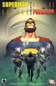 Superman & Batman vs. Aliens & Predator - cover