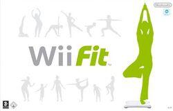 Wii Fit PAL boxart