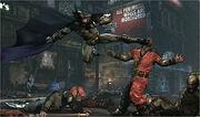 Batman - Arkham City combat screenshot