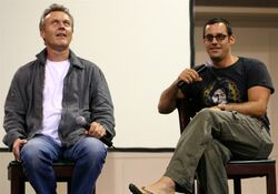 Anthony Stewart Head and Nicholas Brendon Aug 2004