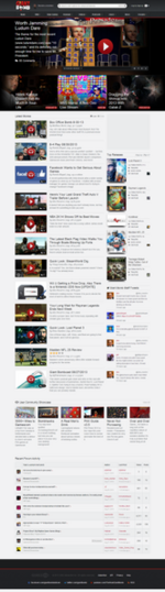 Giant Bomb, Homepage, August 2013