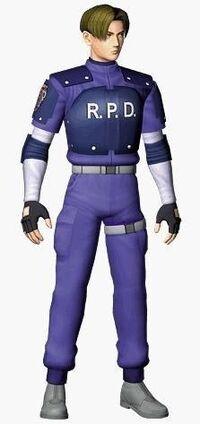 Resident Evil 2 - Leon Scott Kennedy render