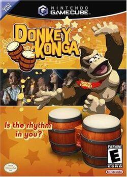 Donkey Konga Coverart