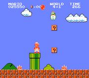 Lakitu in Super Mario Bros. (1985)