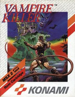 Vampire Killer MSX
