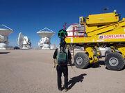 Google Street View at ALMA AOS