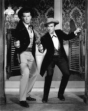 James Garner Jack Kelly Maverick 1959
