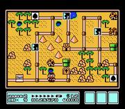 Super Mario Bros. 3 overworld map