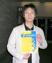 Hideo Kojima at E3 2006