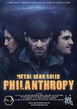 Metal Gear Solid, Philanthropy poster