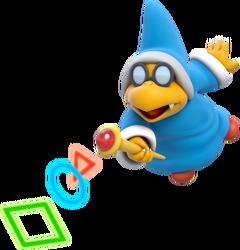 Magikoopa Artwork - Super Mario 3D World