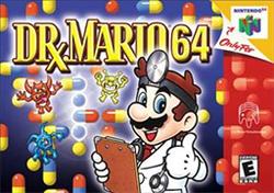Dr. Mario 64 Coverart