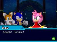Amy Sonic Colors DS