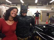 Batman and the Damsel in Distress