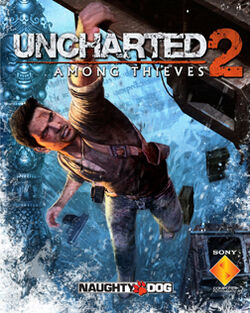 Uncharted 2 box artwork