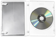 Wii disc in open case