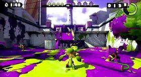 Splatoon Wii U gameplay screenshot
