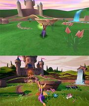 SpyroReignitedTrilogy Comparison