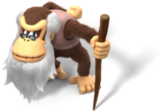 Cranky Kong Artwork - Donkey Kong Country Tropical Freeze