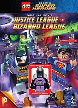 Lego DC Comics Super Heroes Justice League vs. Bizarro League Cover