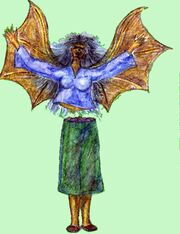 Manananggal of Philippine Mythology Commons