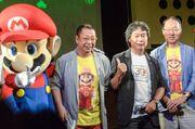 Takashi Tezuka, Shigeru Miyamoto and Kōji Kondō
