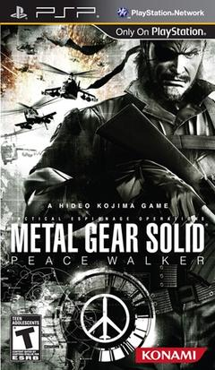 Metal Gear Solid Peace Walker Cover Art