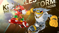 Knuckles and Storm (Sonic Free Riders Opening)