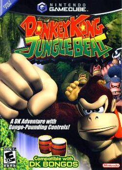 Donkey Kong Jungle Beat Coverart