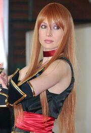 Giorgia Vecchini's cosplay of Kasumi, Dead or Alive 20140222