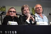 SDCC 2015 - Carrie Fisher, Mark Hamill & Harrison Ford (19060574883)