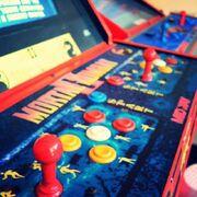 Mortal Kombat II arcade cabinet