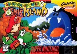 Yoshi's Island (Super Mario World 2) box art