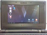 Android x86 on EeePC 701 4G