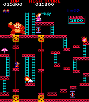 Donkey Kong Screen 3