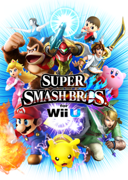 Super Smash Bros for Wii U Box Art