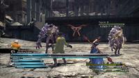 Final Fantasy XIII battle