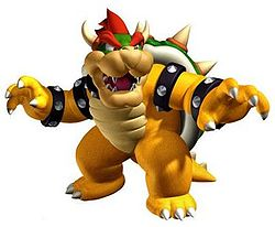 Bowser in his Modern Appearance