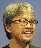 An image of Eiji Aonuma, the producer.