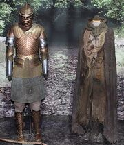 Brienne and Jaime costumes