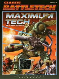 BattleTech Maximum Tech cover